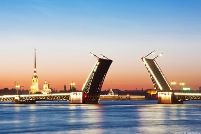 Podizanje mosta Sankt Peterburg