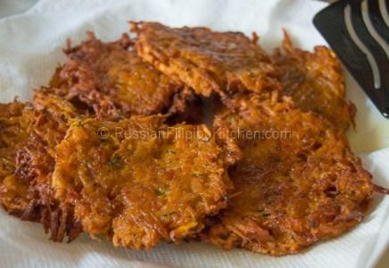 Squash Okoy Recipe (Kabocha Squash Fritters) 09