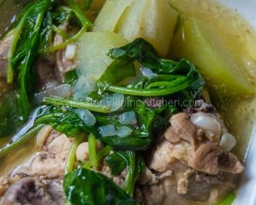 Tinolang Manok (Filipino-style Chicken Soup)