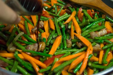 Ginisang Sitaw (Sauteed Long Beans With Pork) 11