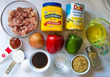Sweet and Sour Pork Recipe 02