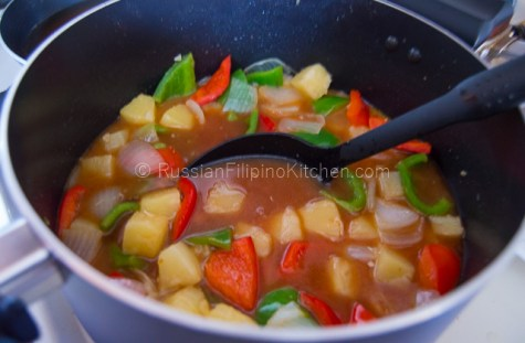 Sweet and Sour Pork Recipe 20