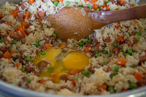 Easy hot dog fried rice russian filipino kitchen easy hot dog fried rice 09 ccuart Choice Image