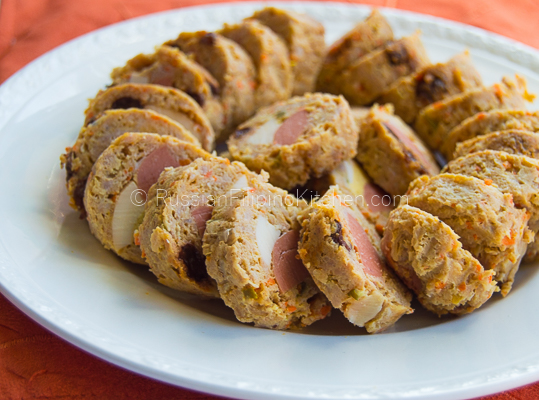 Filipino Pork Embutido Russian Kitchen