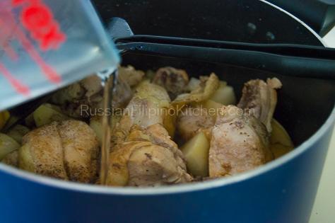 Pinatatasang Manok (Bone-in Chicken with Potatoes) 12