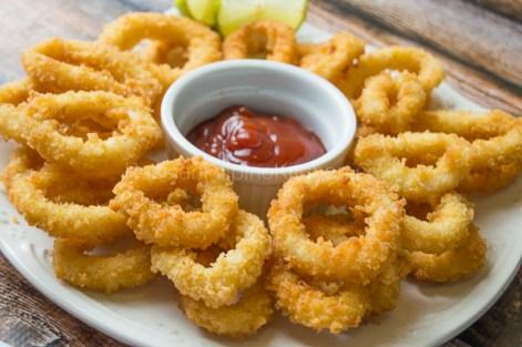 crispy fried calamari 14
