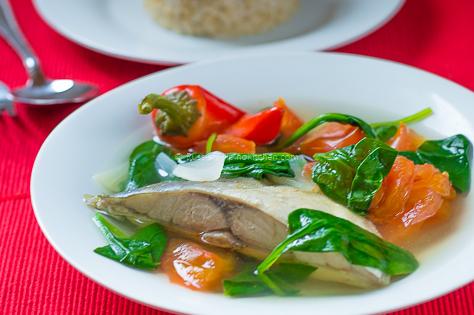 Fish Tinola Recipe or Tinolang Isda 09