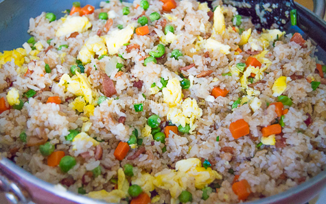 Quick and Easy Bacon Fried Rice 14