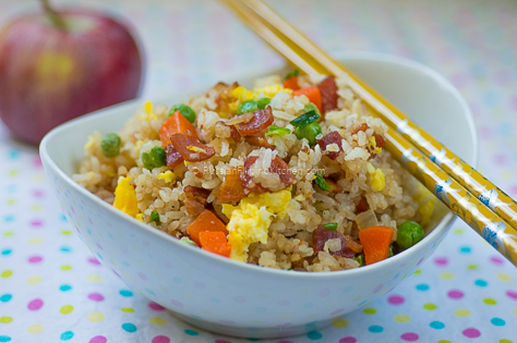 Quick and Easy Bacon Fried Rice 15