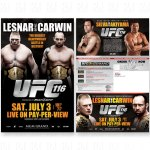 UFC 116 Mailer
