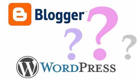 ¿Qué elegir WordPress o Blogger?