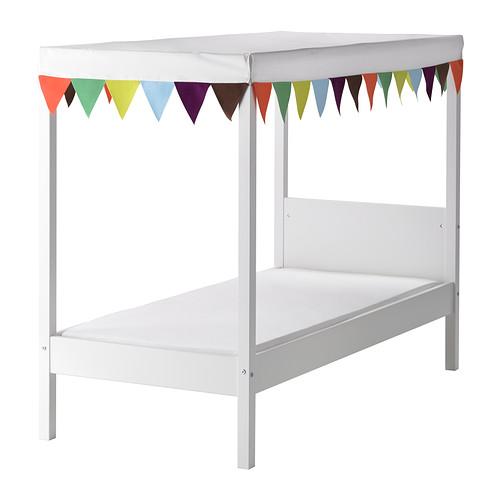 C mo hacer una cama caba a para ni os - Ikea textil cama ...