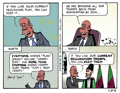 Ted Rall's supposed racism.