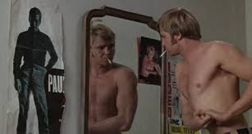 joe buck in mirror