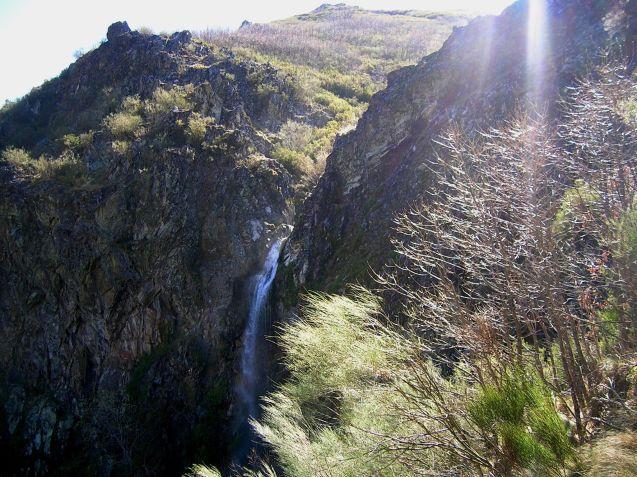 Cascada de El Gualtón