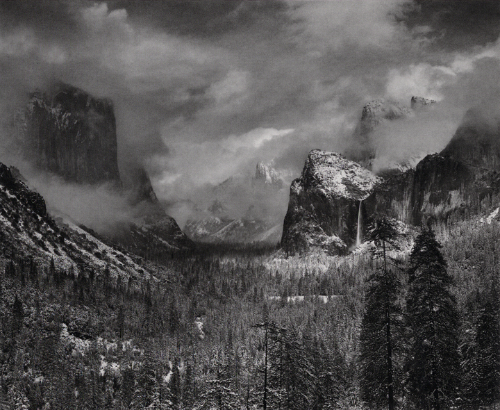 Ansel Adams 'Clearing Winter Storm'