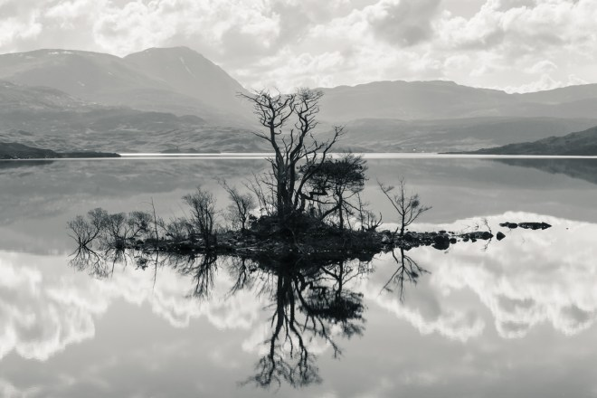 Loch Assynt Reflection 2
