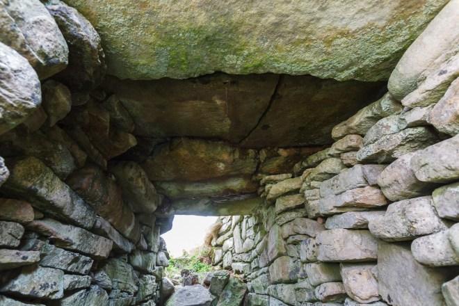 Inside Dun Ringill