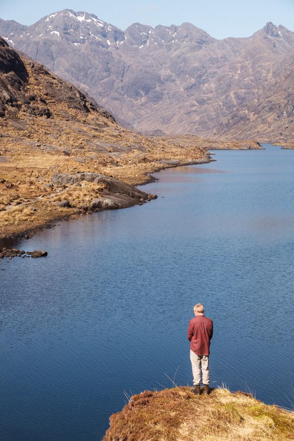 Pensive Above Loch Coruisk