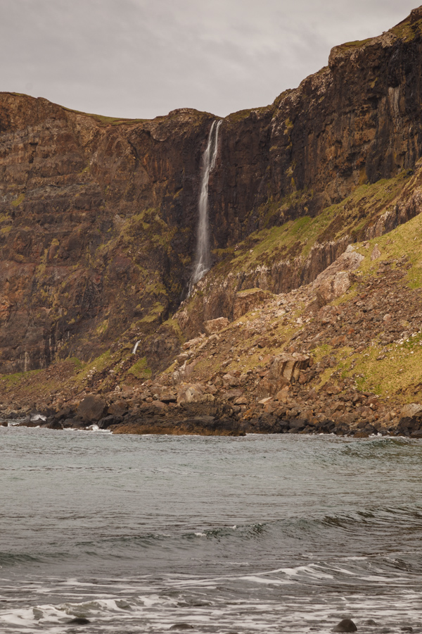 Waterfall In Talisker Bay