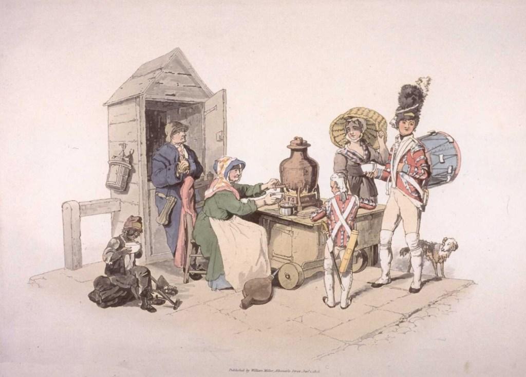 Woman Selling Salop