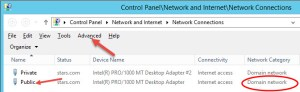 GUI Network Binding Order