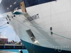 Perpetual maintenance keeps the ship lookign fresh