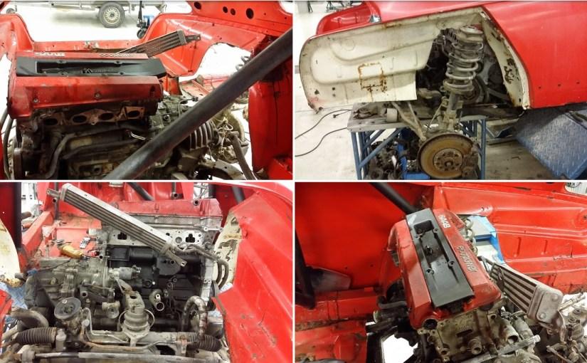Saab 96 T5 Mid Engine
