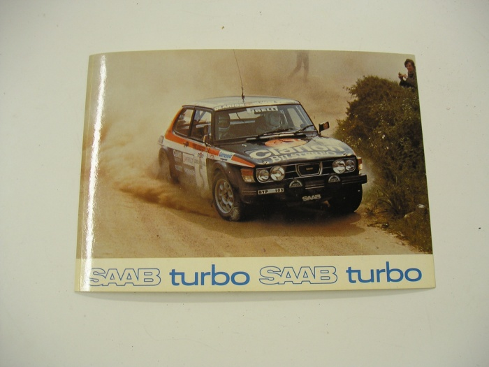 Saab 99 Turbo Rally Stig Blomqvist Costa Smeralda 1980 ...