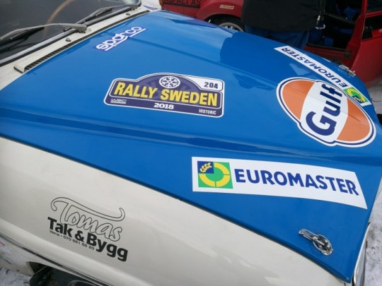 Thanks for our swedish sponsor Tomas Tak&Bygg