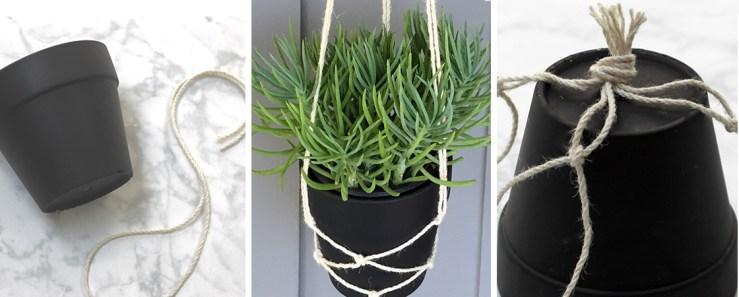 Quick DIY: Hanging Planter
