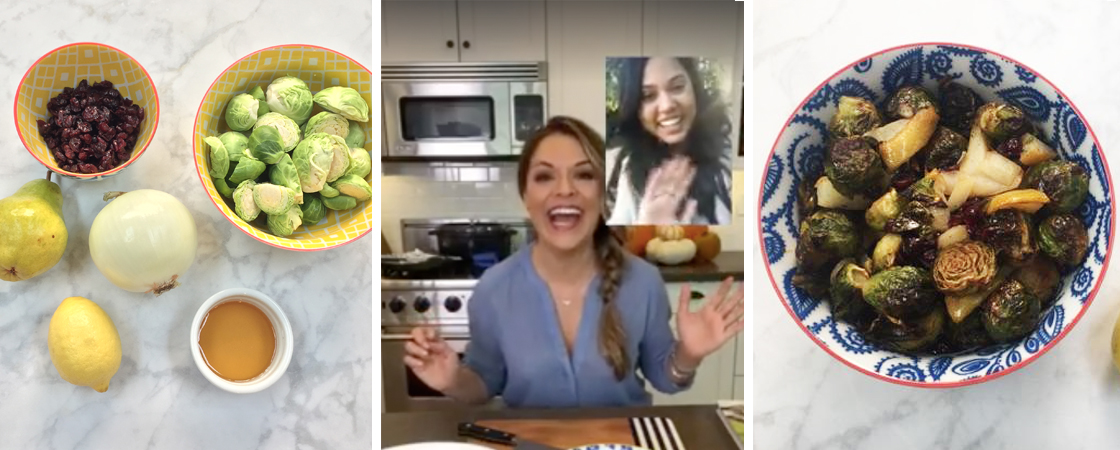 Facebook Live With Ayesha Curry
