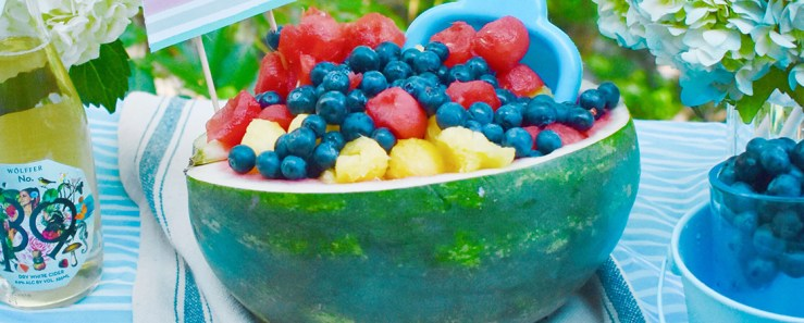 Fourth of July: Watermelon Centerpiece