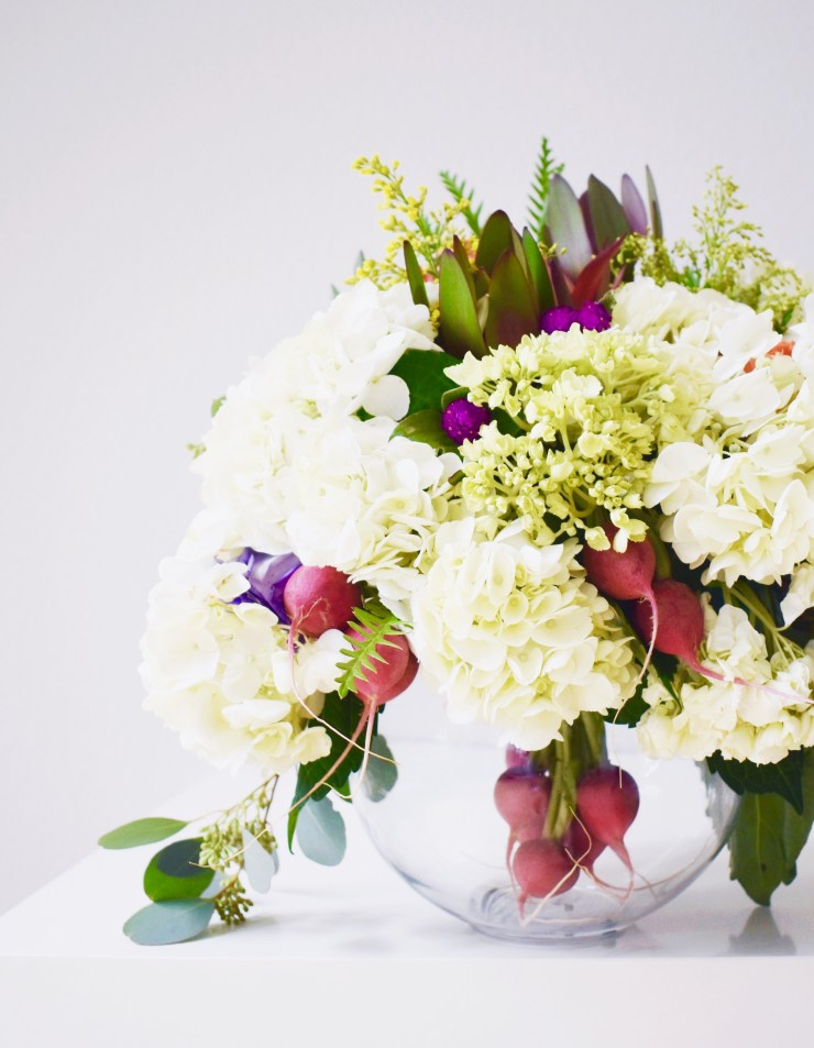 Sabrina Soto Fall Floral Arrangement