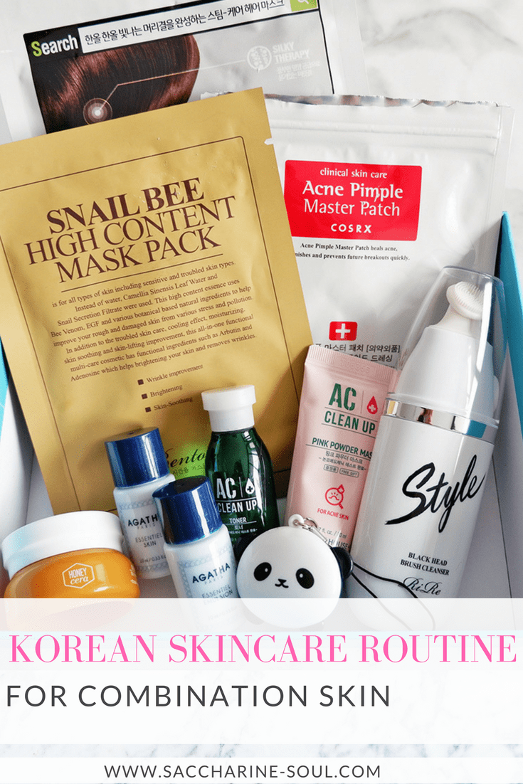 Korean Skincare Routine for Combination Skin