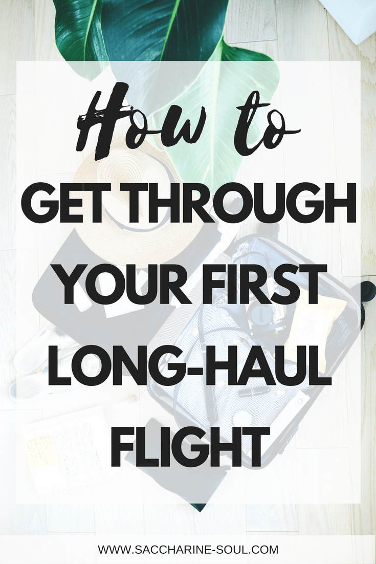 How to get through your first long-haul flight