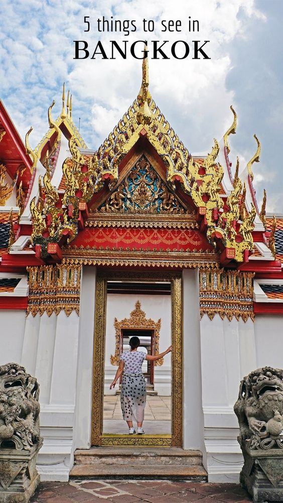 Top 5 Things to see in Bangkok
