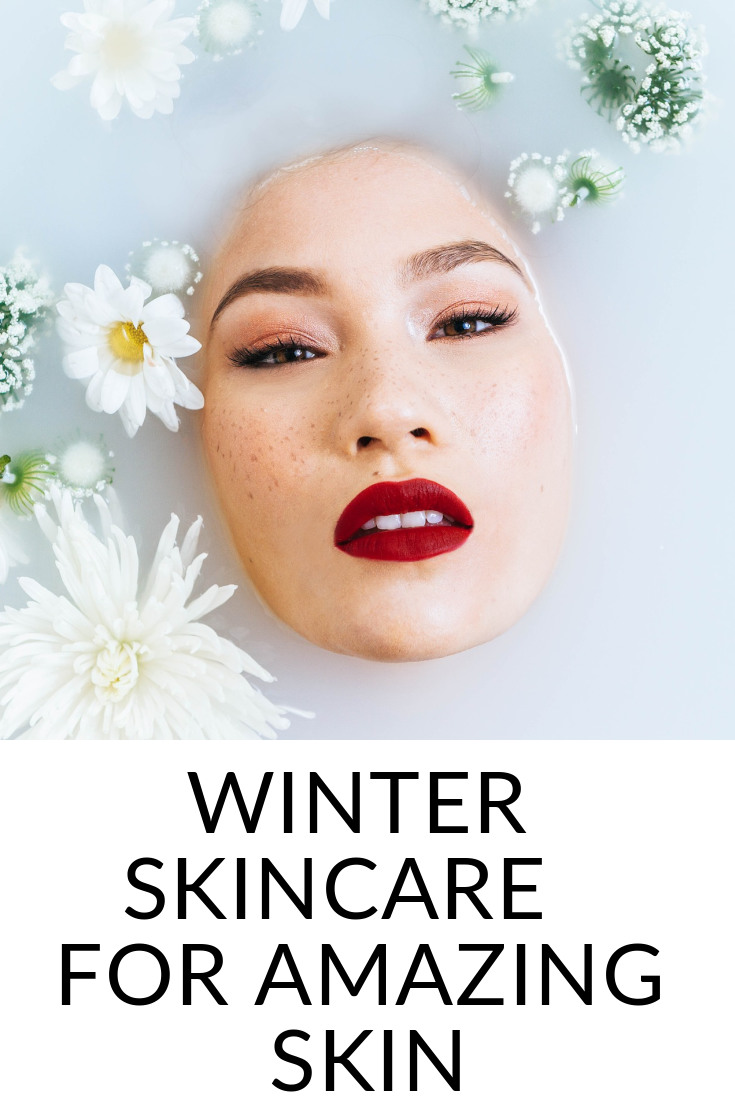 Winter skincare routine for combination skin