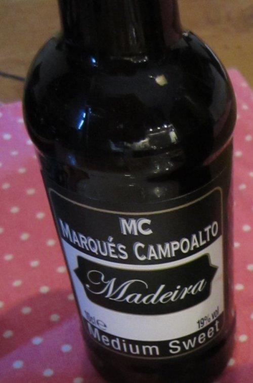 Wir nahmen Madeira für die Sauce