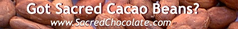Got Sacred Cacao Chocolate Beans