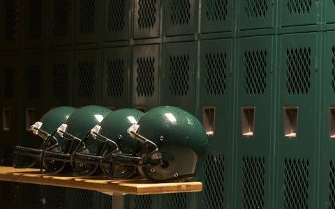 Football helmet protection
