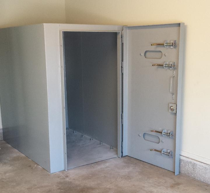 Oklahoma Safe Room Installed In 7 10 Days