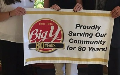 Safe and Sound Receives $5,000 Donation from  Newtown Big Y World Class Market