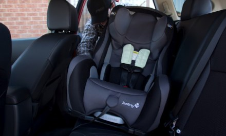 Child car seat install