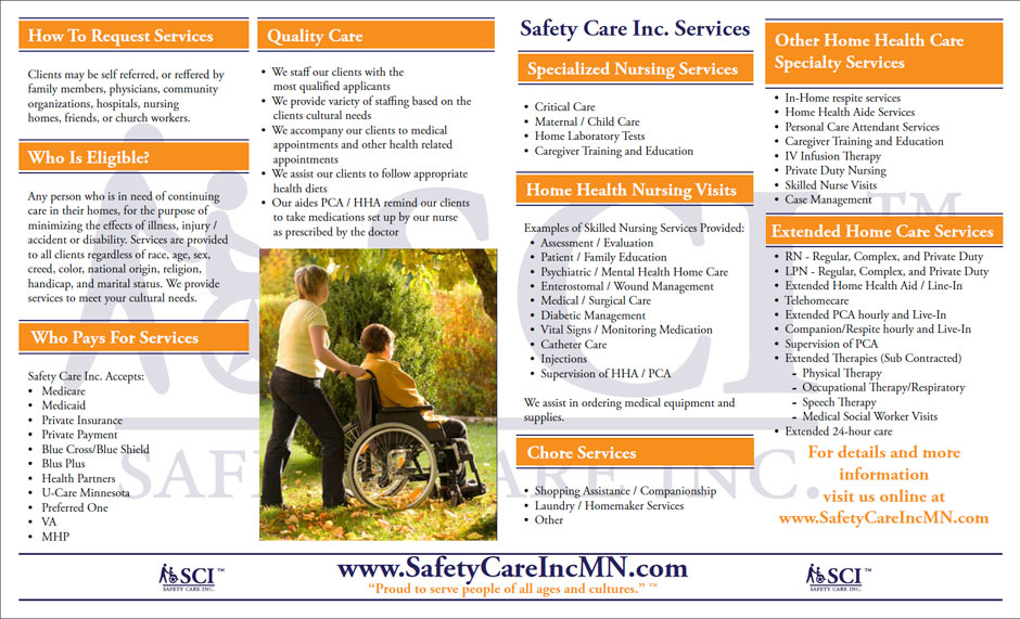 Company Brochure – Safety Care Inc.
