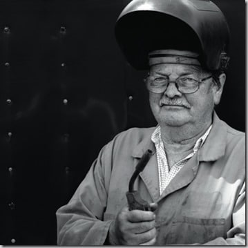 Welder in his Sixties