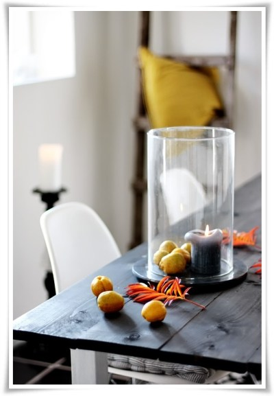 Lemons and candle in a hurricane.  How easy is that? - Helt Enkelt