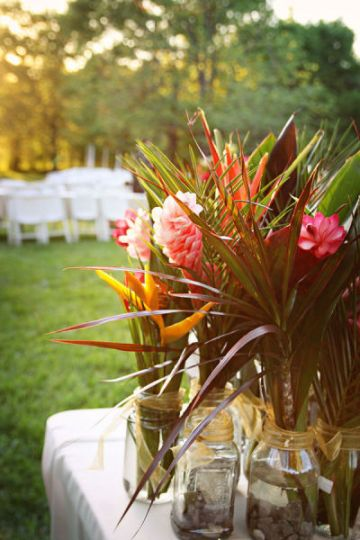 ideas for tropical weddings