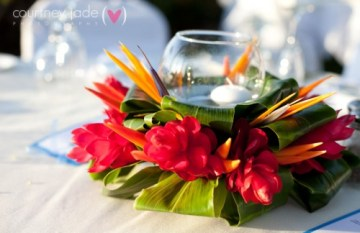tropical wedding decor ideas