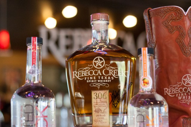 Rebecca Creek Texas Spirit Whiskey